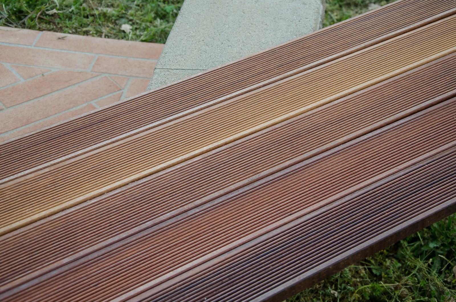 Pavimento in legno da esterno decking cumaru teak - Pavimento in legno esterno ...