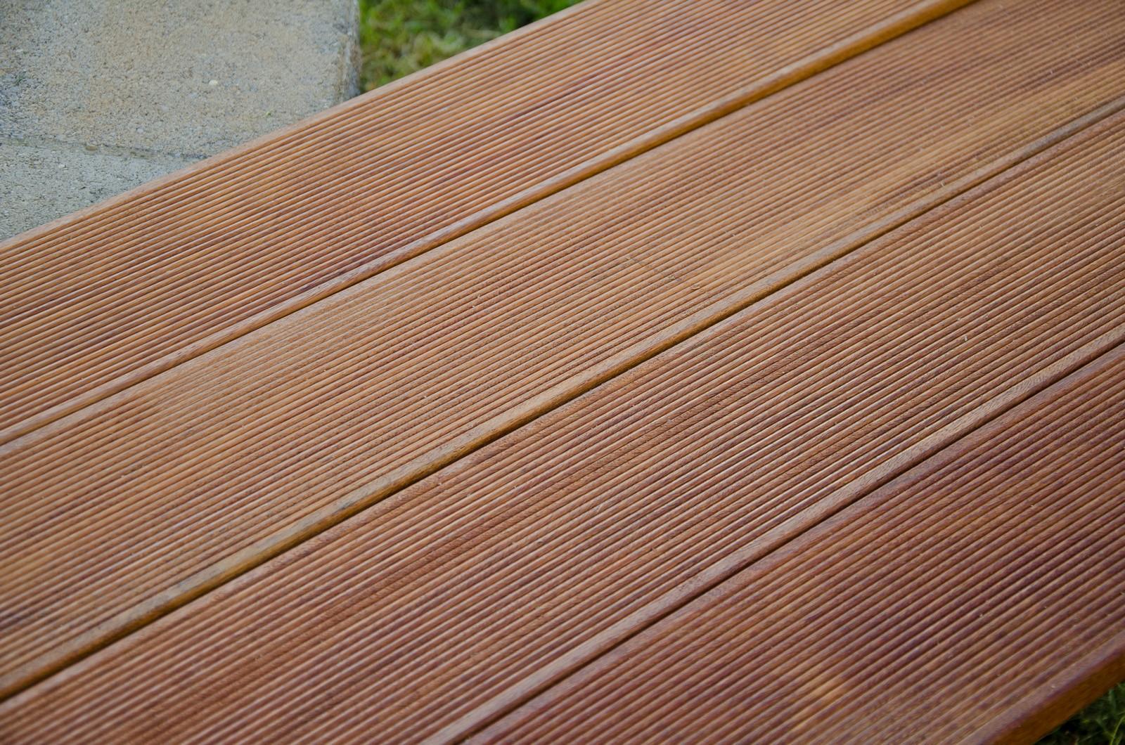 Pavimento maxilistone da esterno in legno decking cumaru teak americano ebay - Pavimento in legno da esterno ...