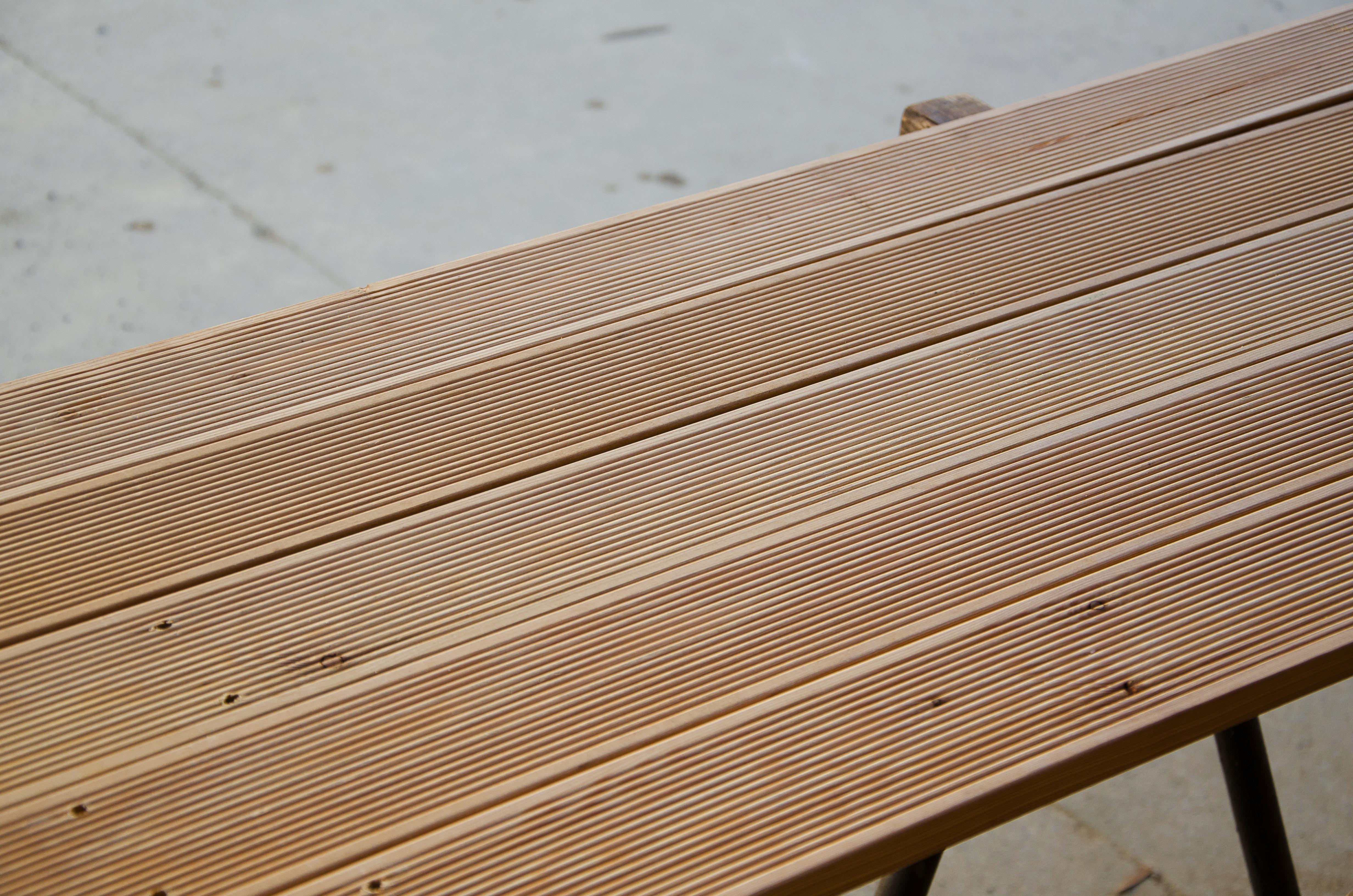 Pavimento maxilistone in legno da esterno decking larice - Pavimento in legno esterno ...
