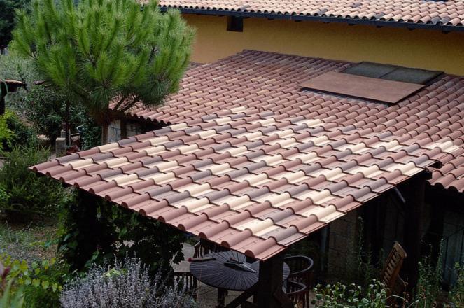 Tegola coppo modello toscana roofy pvc ebay for Battiscopa in legno bricoman