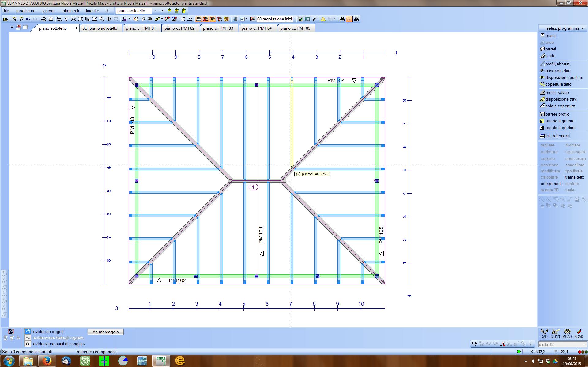 Progettazione completa di tetti e strutture in legno in 3d for Programma per disegnare in 3d facile